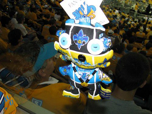 It's not clear if the Hornets know how voodoo dolls work_lowres