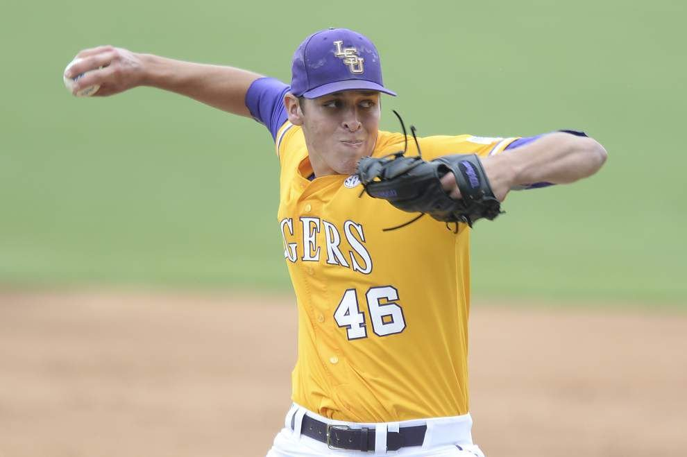 LSU baseball postgame: Tigers sweep defeat Mississippi State 17-4 _lowres