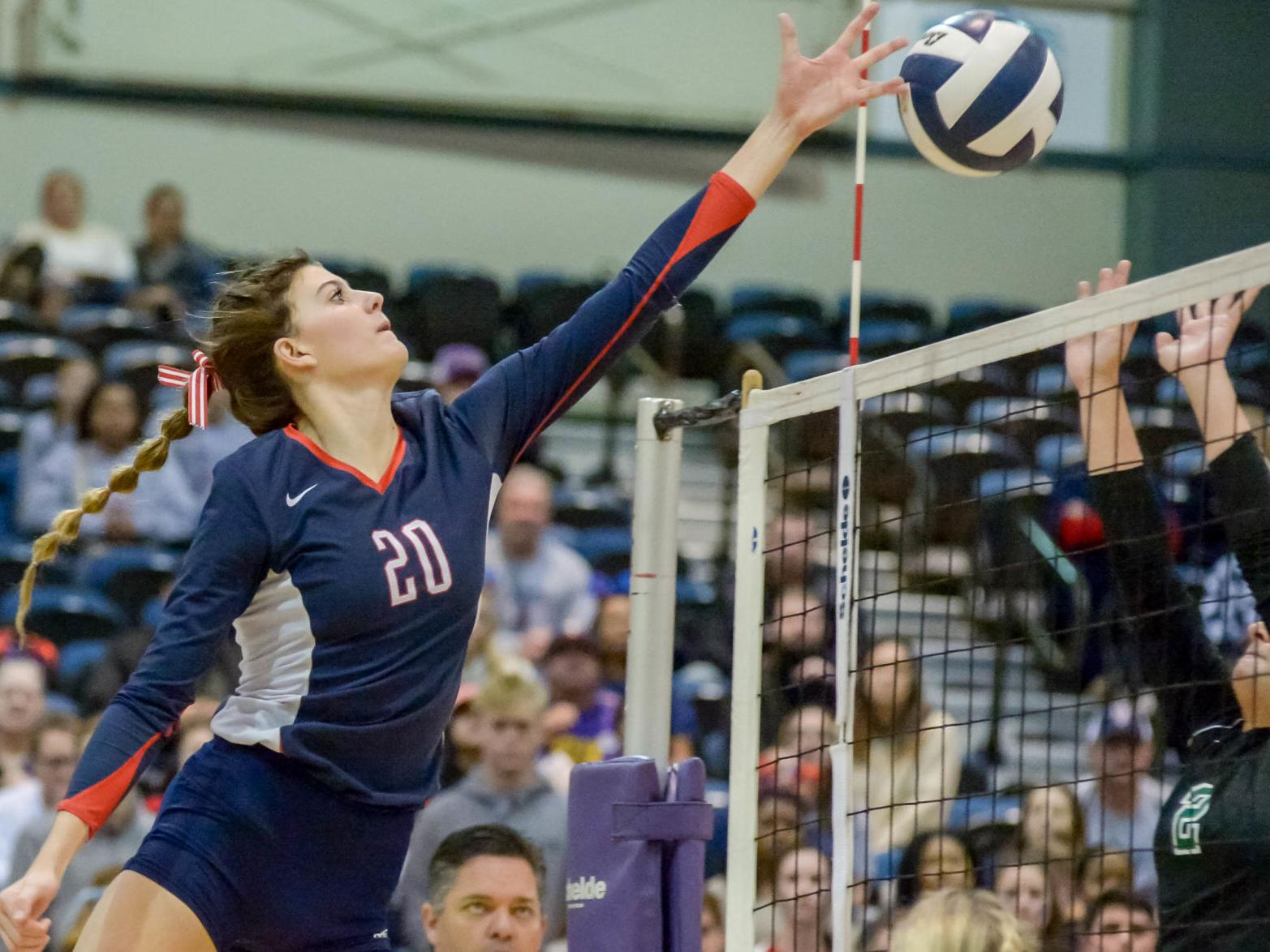 Winning Again Teurlings Mount Carmel Country Day Extend Title Streaks At Lhsaa Volleyball Tourney High School Sports Theadvocate Com