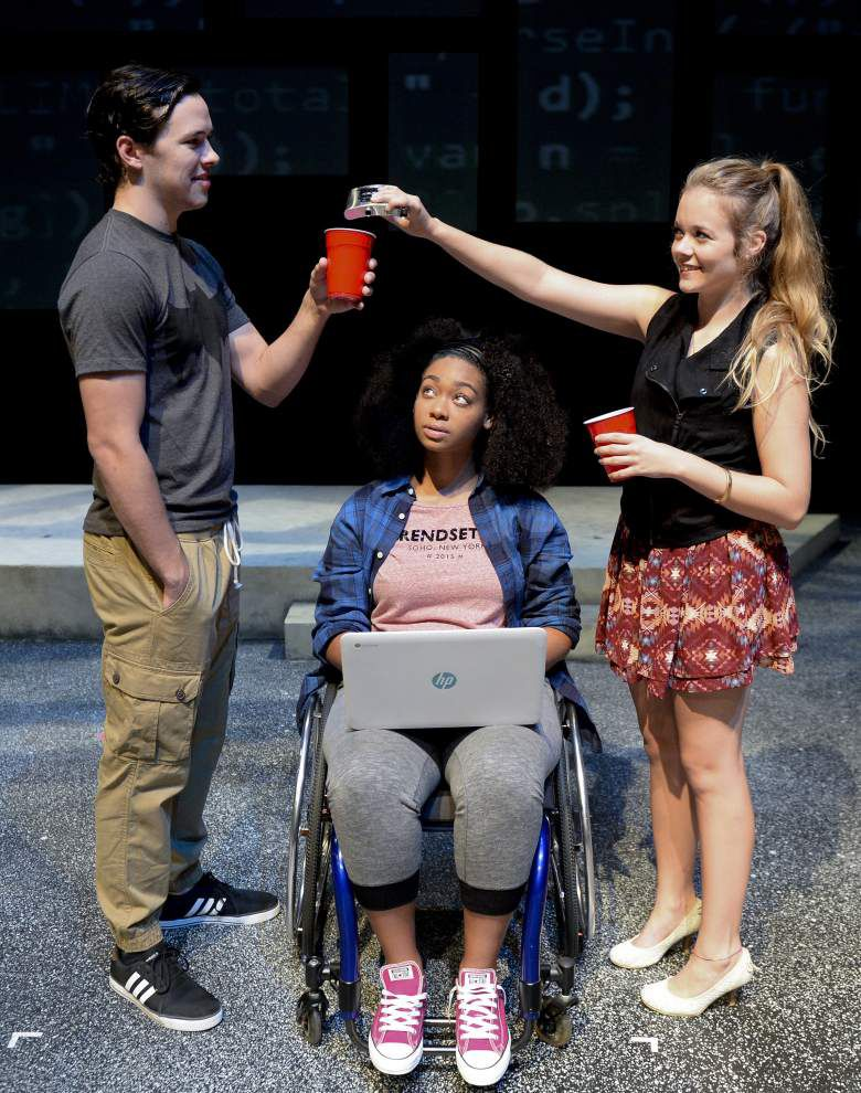 Reilly Theatre transformed into school yard for 'Good Kids' drama at LSU _lowres