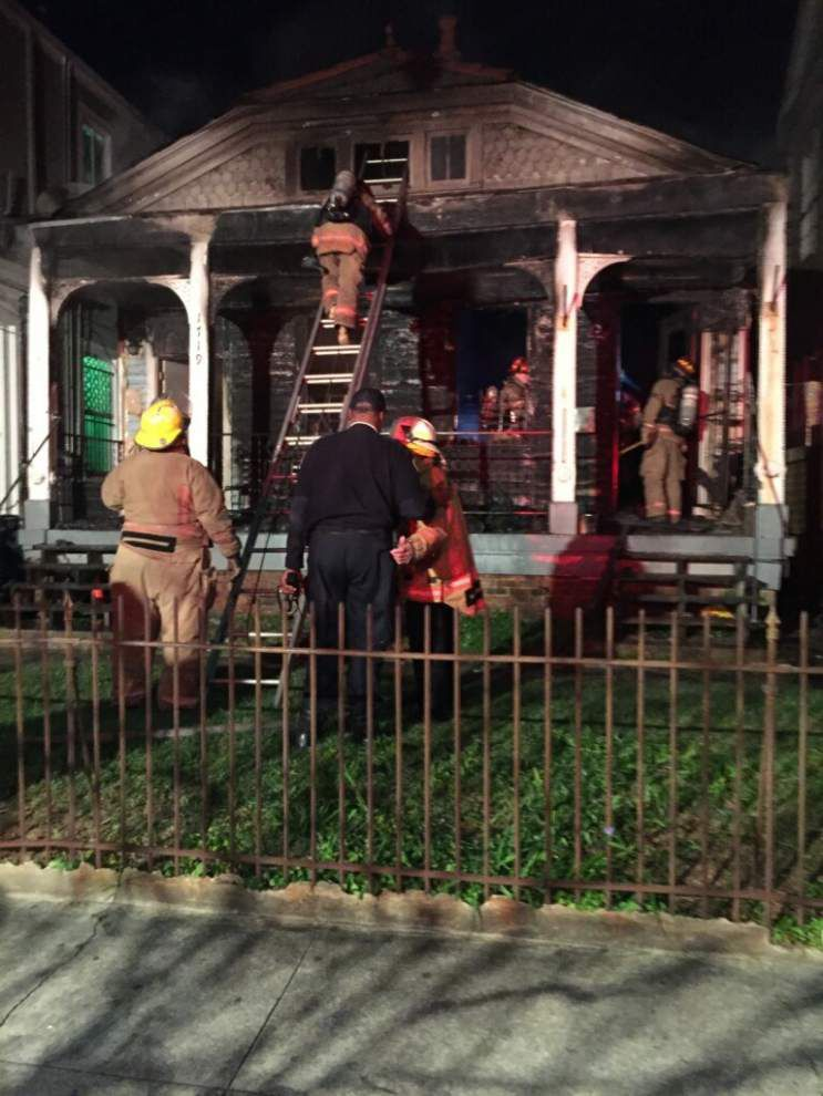Three rescued in two overnight fires in New Orleans, including blaze at Airbnb-rented property _lowres