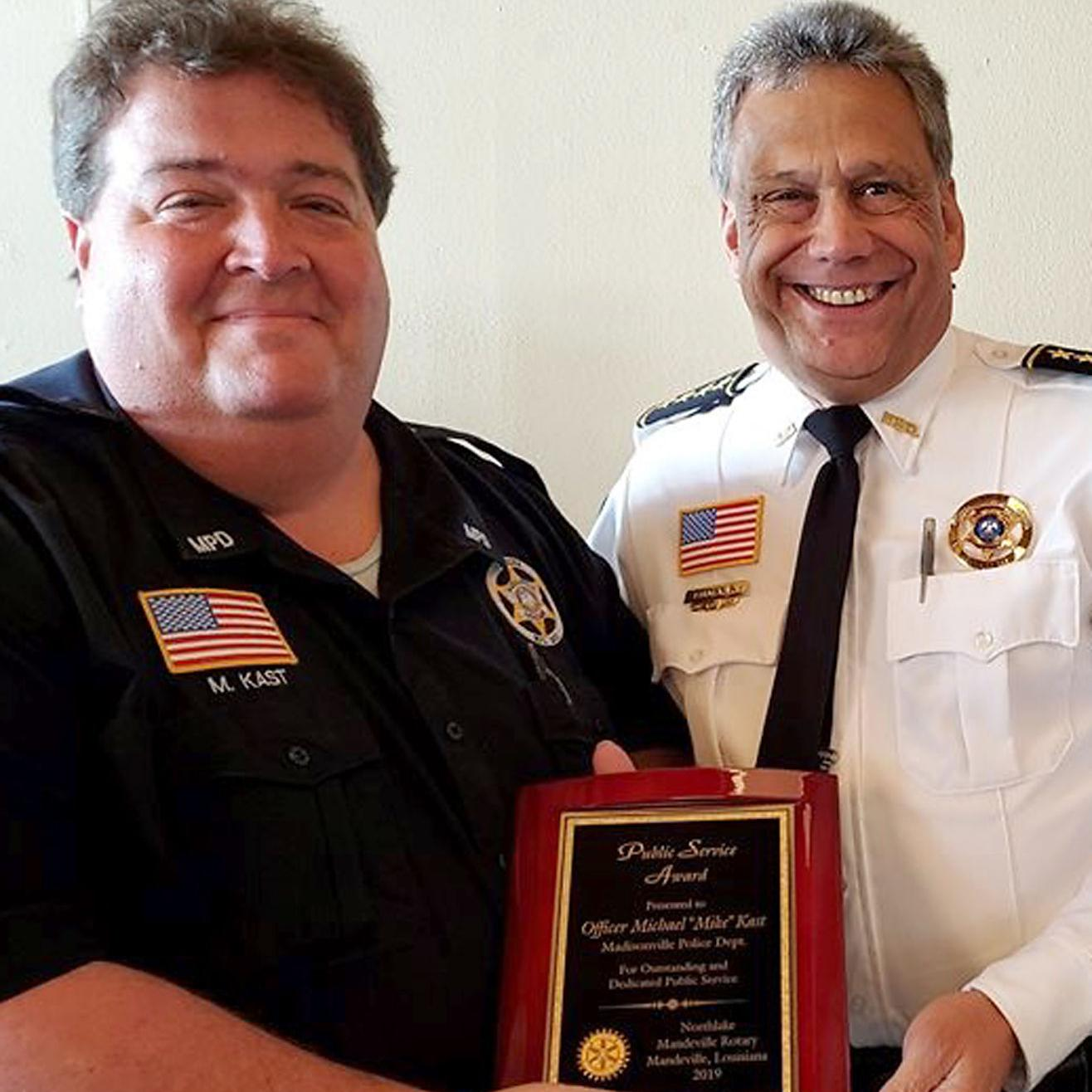 Super First responders honored at Rotary's Public Service Awards FN-08