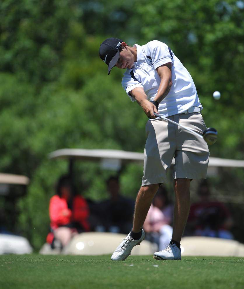 St. John's Michael D'Albor wins state golf title _lowres