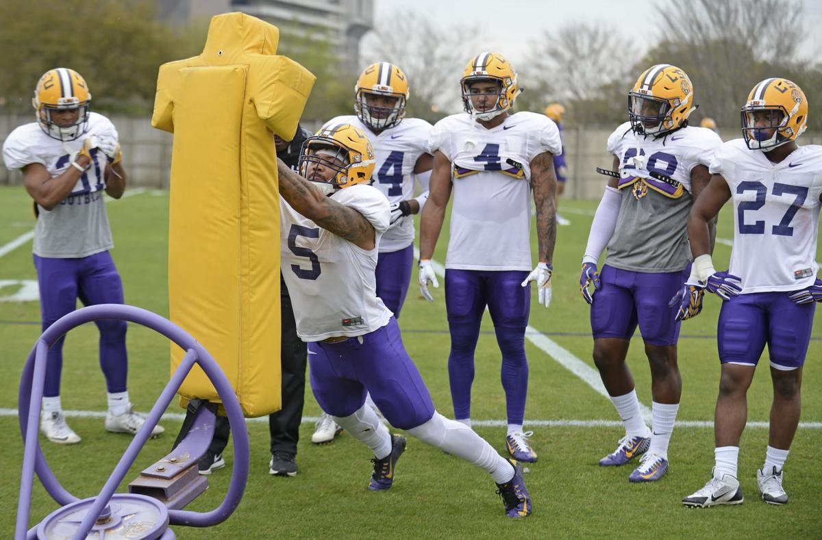 LSU spring position recap: Tight ends in the 'backfield'? Yes, in Matt Canada's new offense; more