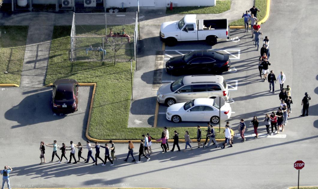 Florida school shooting suspect was white nationalist group member, leader confirms