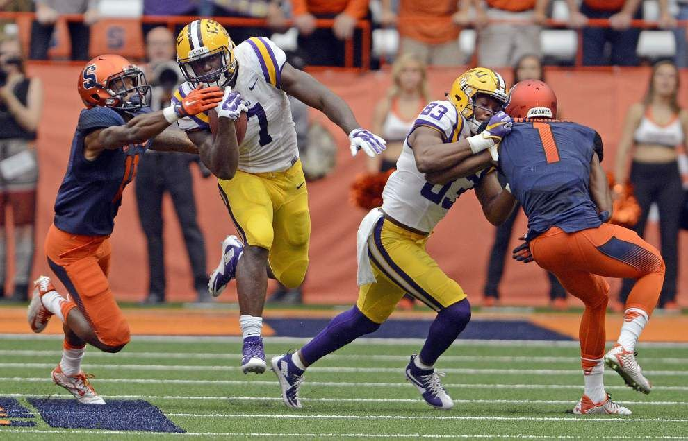 Rabalais: Look for Leonard Fournette to end one strange week with a bang against Eastern Michigan _lowres