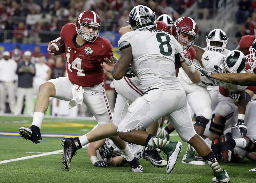 Alabama overmatches Michigan State in Cotton Bowl _lowres