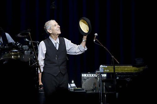 Leonard Cohen to perform at Mahalia Jackson Theater in March_lowres
