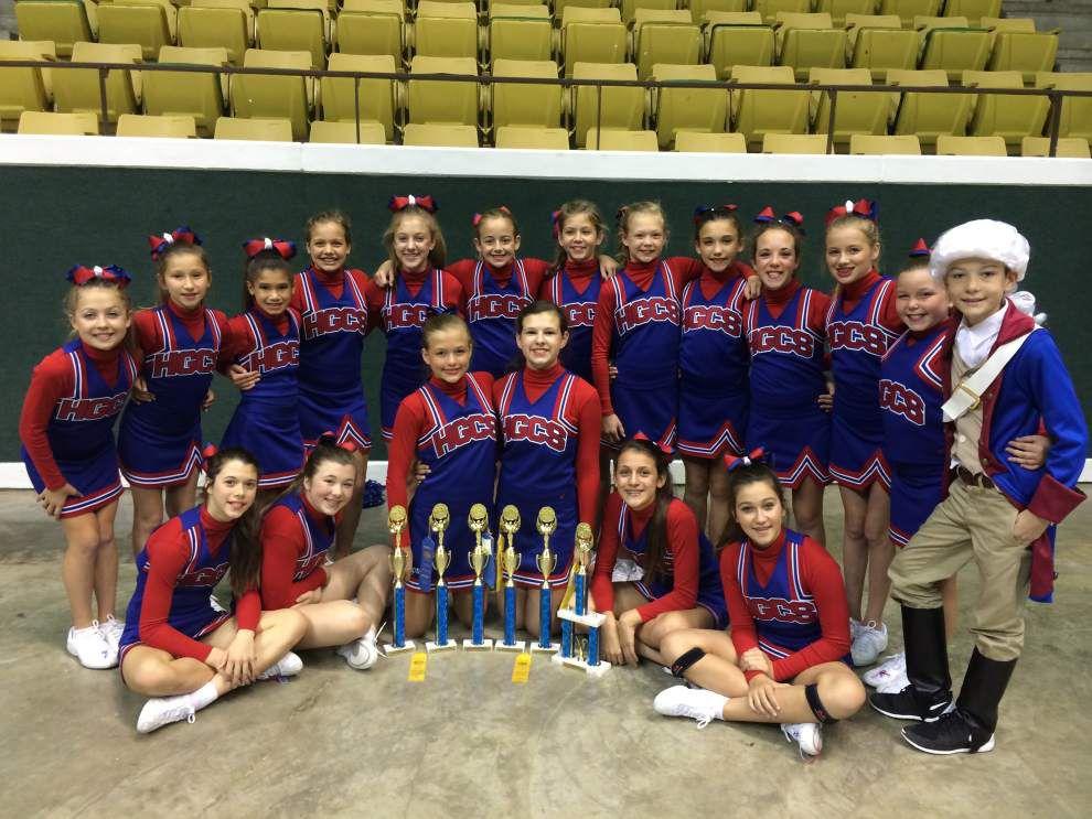 Holy Ghost School cheerleaders win awards _lowres