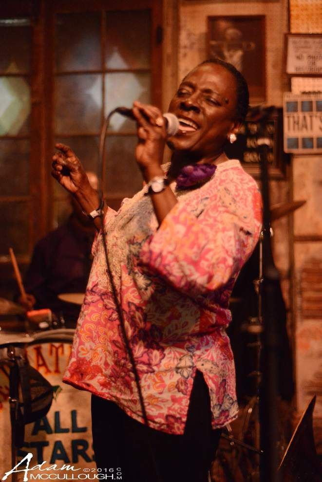 Sharon Jones brings energy to surprise midnight Preservation Hall show _lowres
