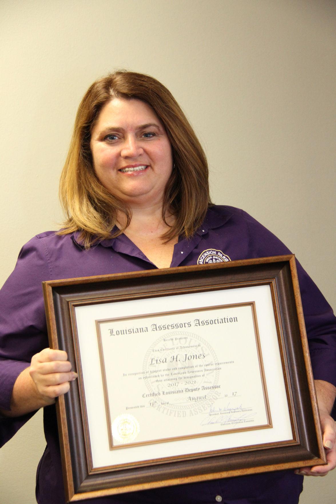Lisa Jones Certifies.JPG
