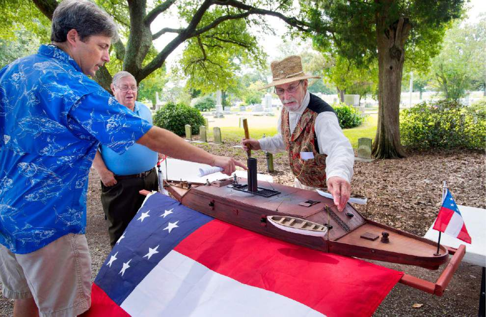 Historian tells of ironclad's troubles during the Battle of Baton Rouge _lowres