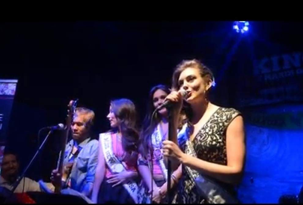 Miss USA contestants take to karaoke stage in Baton Rouge _lowres