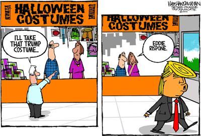 Walt Handelsman: Trump Costume