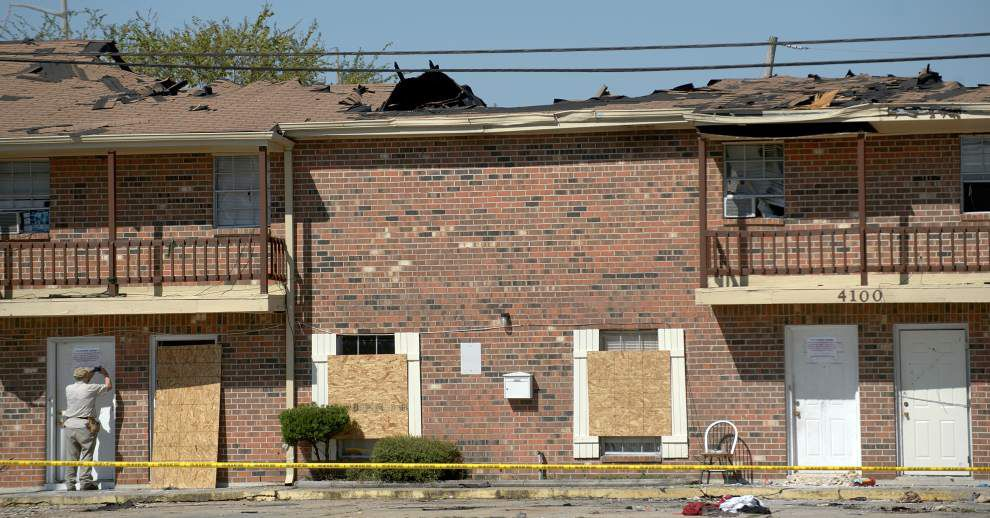 Some victims of Kenner apartment fire have found new homes; others are still looking _lowres
