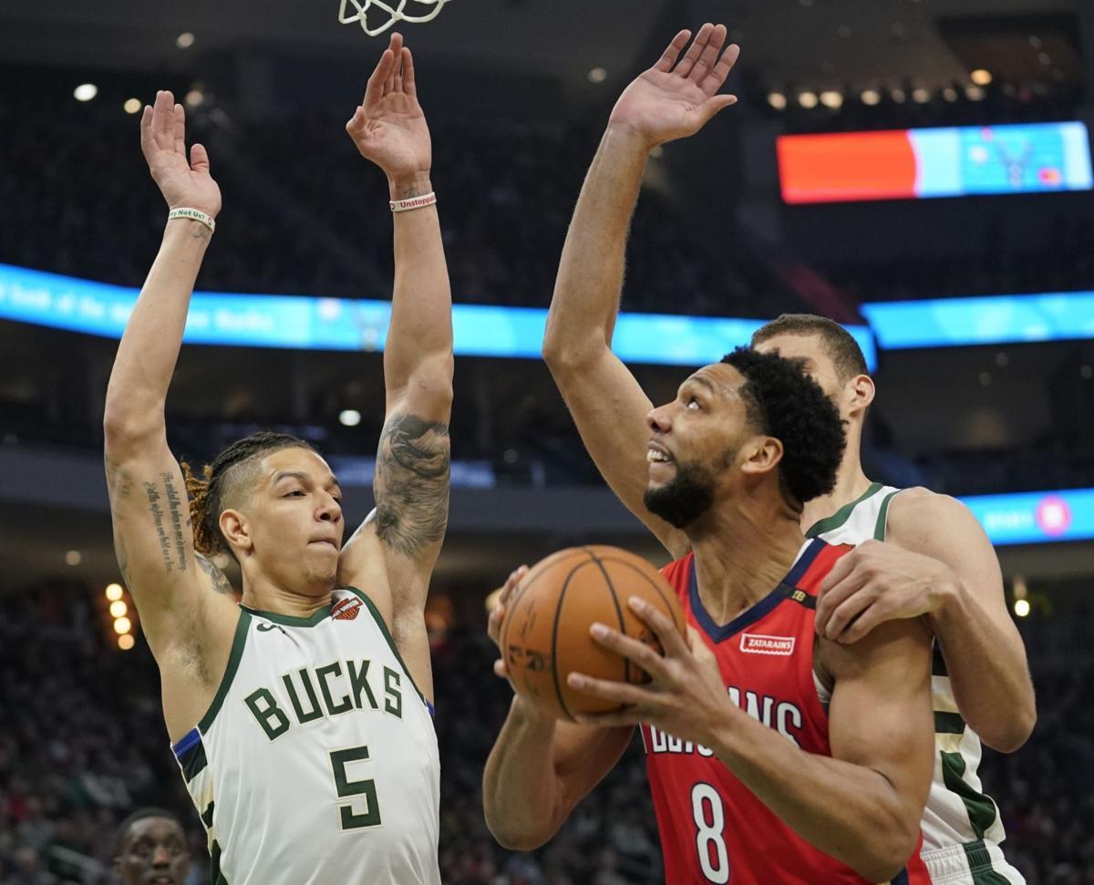 Pelicans Bucks Basketball