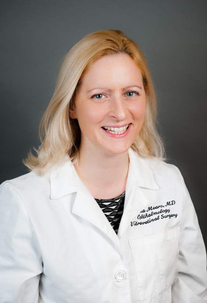 Williamson Allemond Regional Eye Center welcomes Dr. Mears _lowres