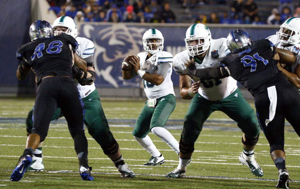 Miscues, special-teams blunders doom Tulane in its 41-13 loss at Memphis _lowres