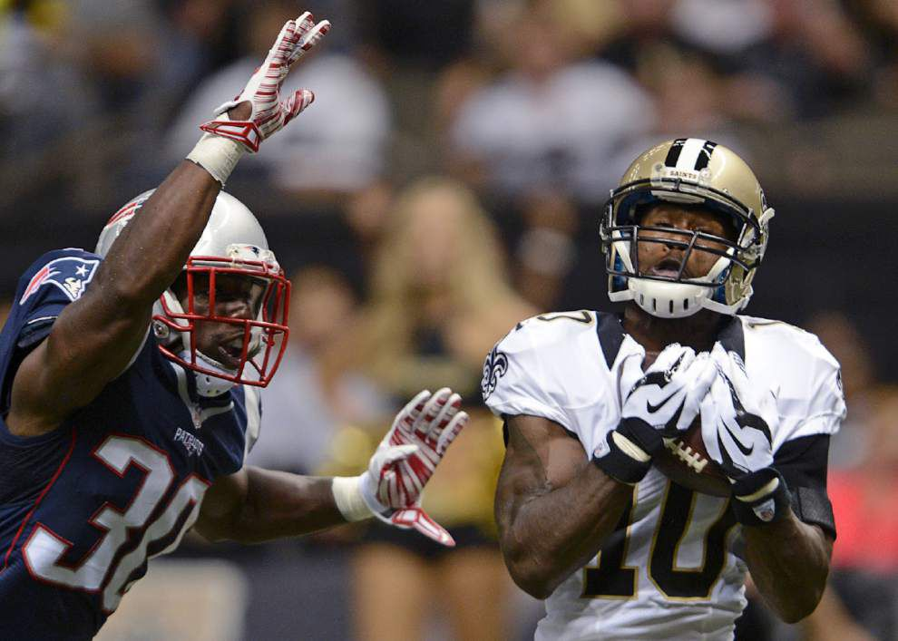Why swift Saints wide receiver Brandin Cooks is looking to slow down to speed up _lowres