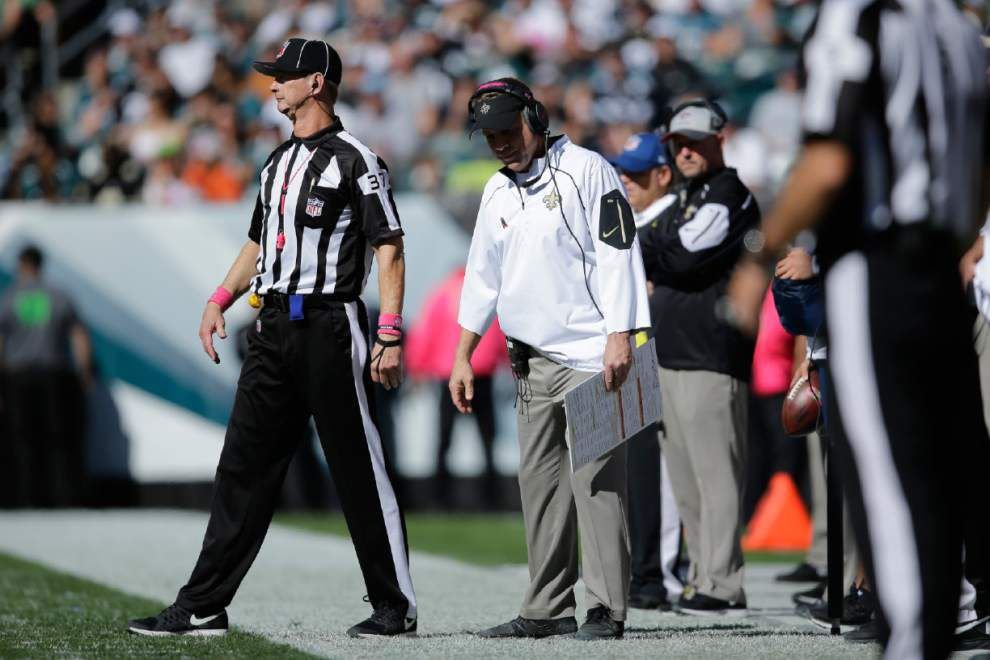 Photos: Saints turn in mistake-filled performance against Eagles in 39-17 loss; drop to 1-4 _lowres
