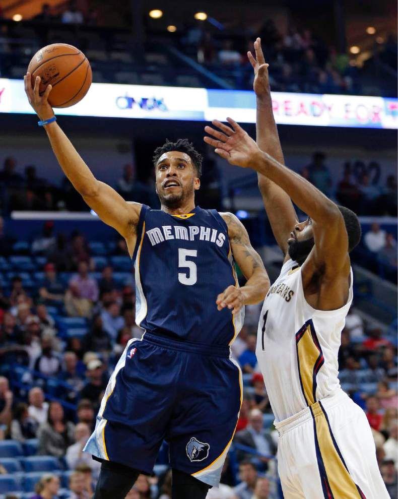 Grizzlies' Marc Gasol spoils return of Pelicans' Tyreke Evans, Norris Cole _lowres