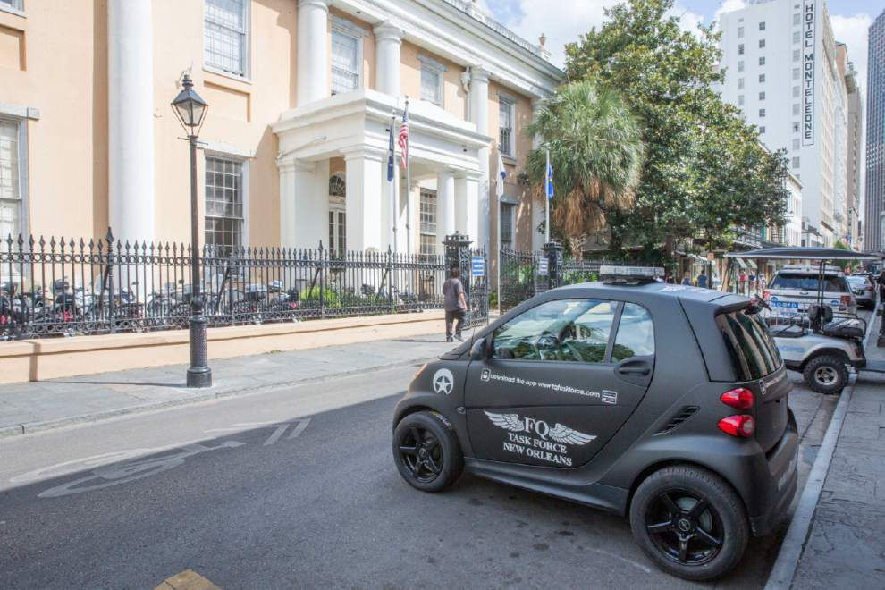 For $100K, Sidney Torres fighting French Quarter crime again, this time with Smart cars, new app _lowres