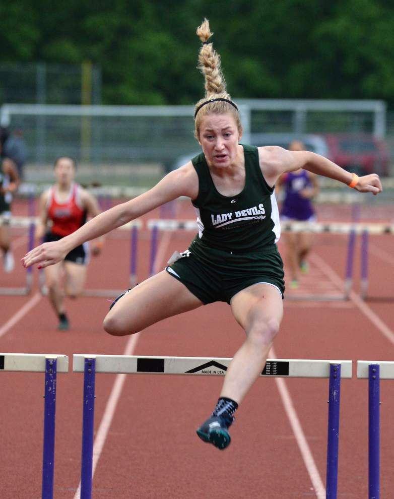 Plaquemine boys, girls roll to titles at District 6-4A track and field meet _lowres