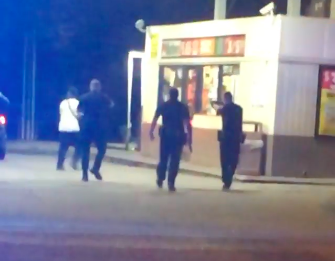 From witness video: Lafayette police shooting 1
