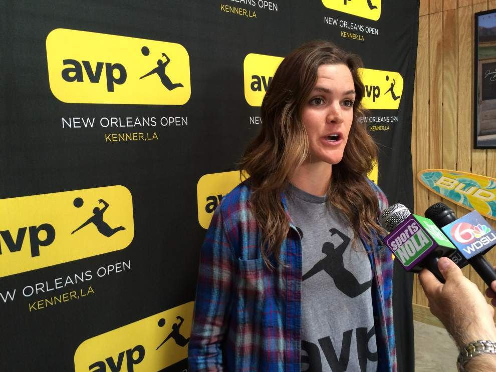 Former LSU standout Angela Bensend excited to return to AVP Tour's New Orleans Open _lowres