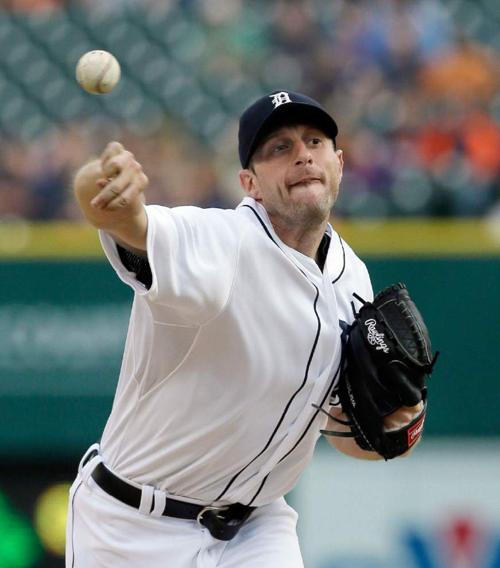 Max Scherzer, Nationals agree to $210M deal _lowres