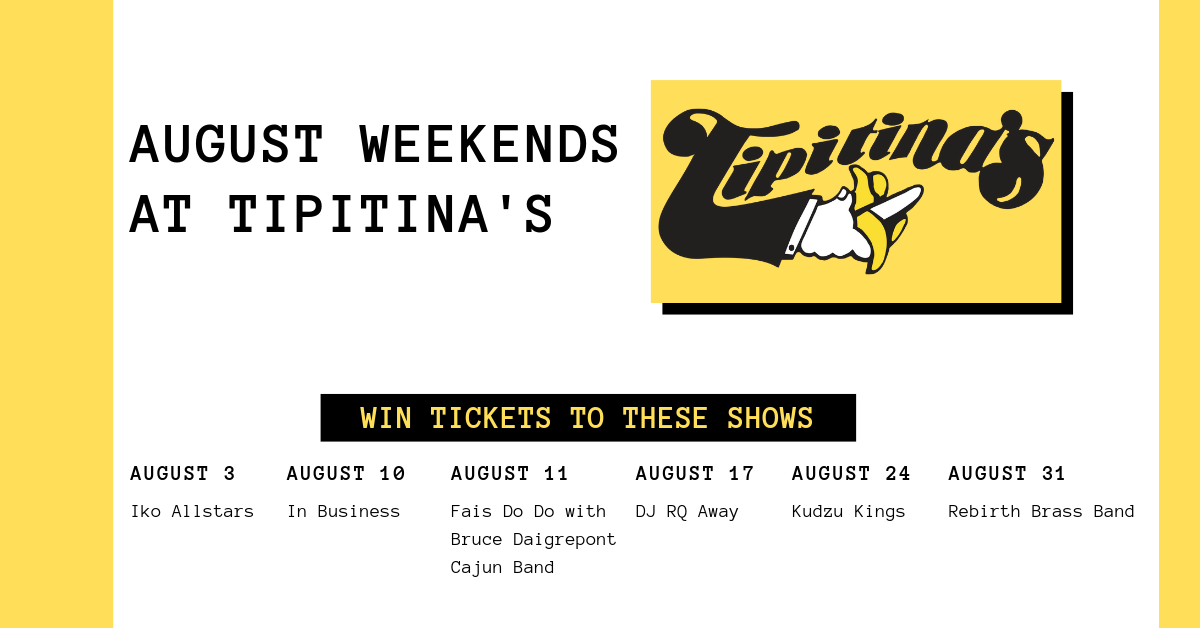 august at tipitina's