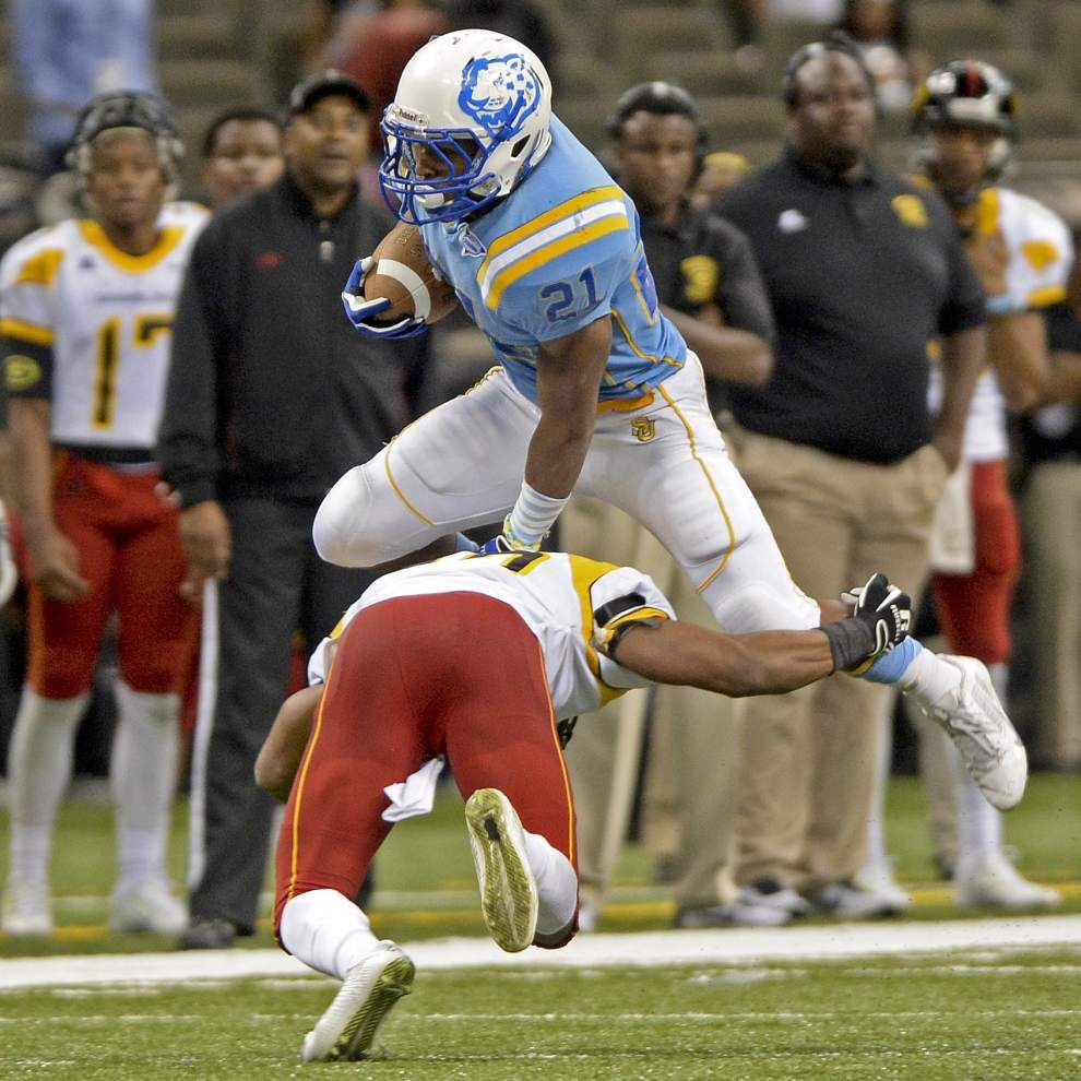 """Video: Southern running back Lenard Tillery says the Jaguars had an """"emotional win"""" in the Bayou Classic _lowres"""