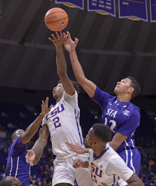 Oh no! LSU misses last-second layup, suffers stunning upset against Stephen F. Austin