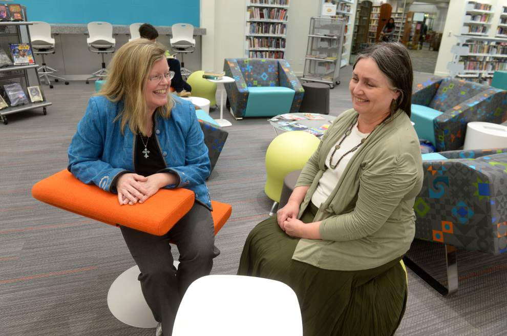 New, modern teen room opens at Bluebonnet Branch library; it's just one of the changes as renovations begin at parish branch libraries _lowres