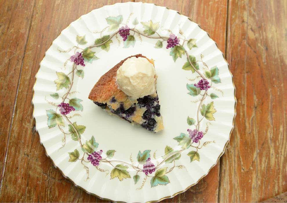 Joanie's Blueberry and Ice Cream Dessert _lowres