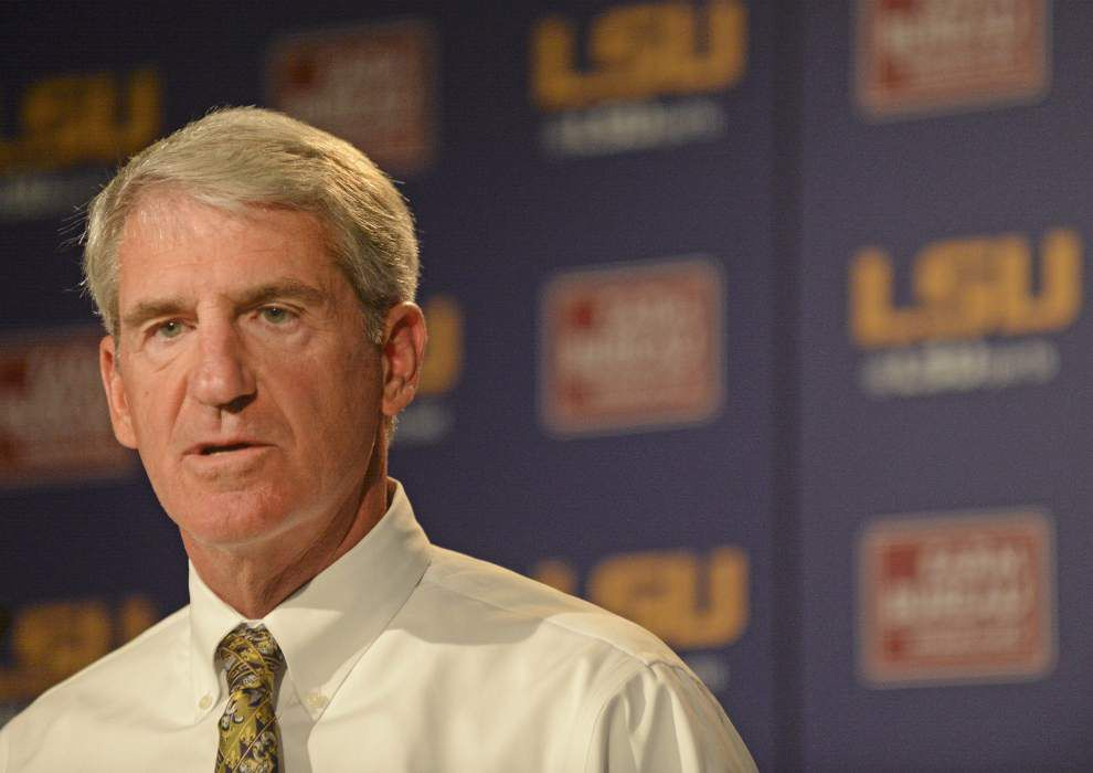 LSU athletic director Joe Alleva to receive one-year contract extension _lowres