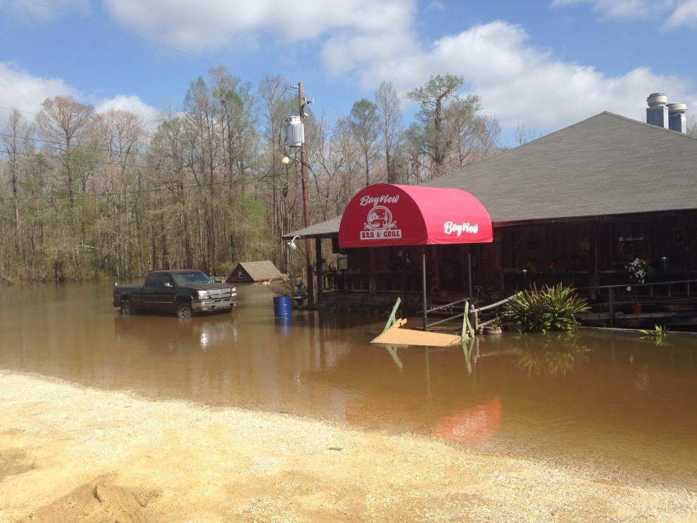 At least 379 homes flooded in Livingston Parish; Ascension damage not nearly as bad as expected _lowres