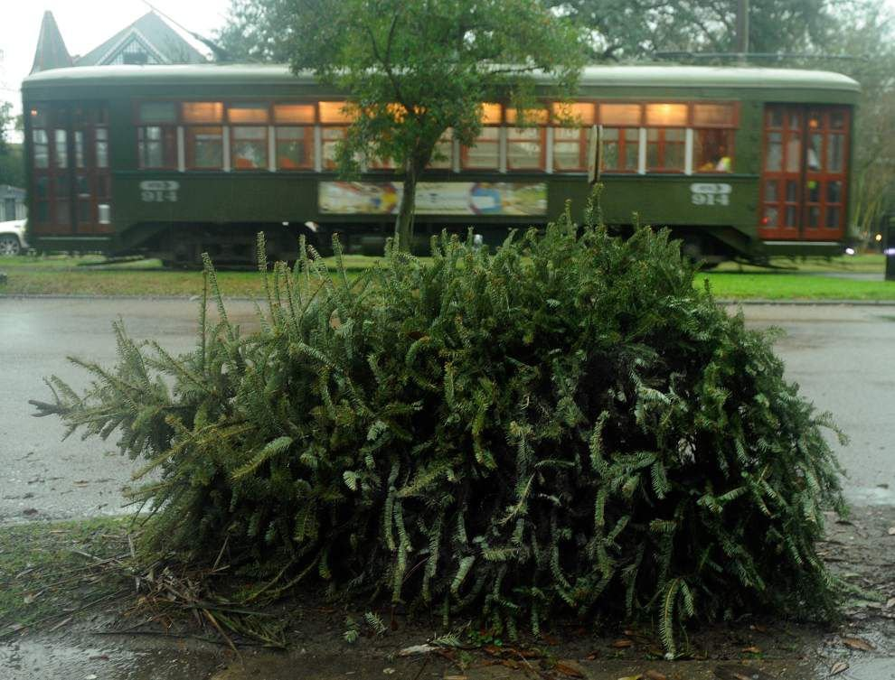 Ready to ditch your Christmas tree? Here's how, when New Orleans-area parishes will collect them _lowres