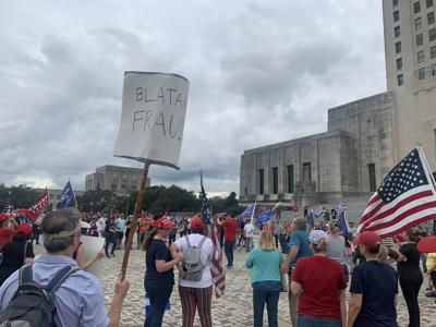 Trump supporters rally at State Capitol