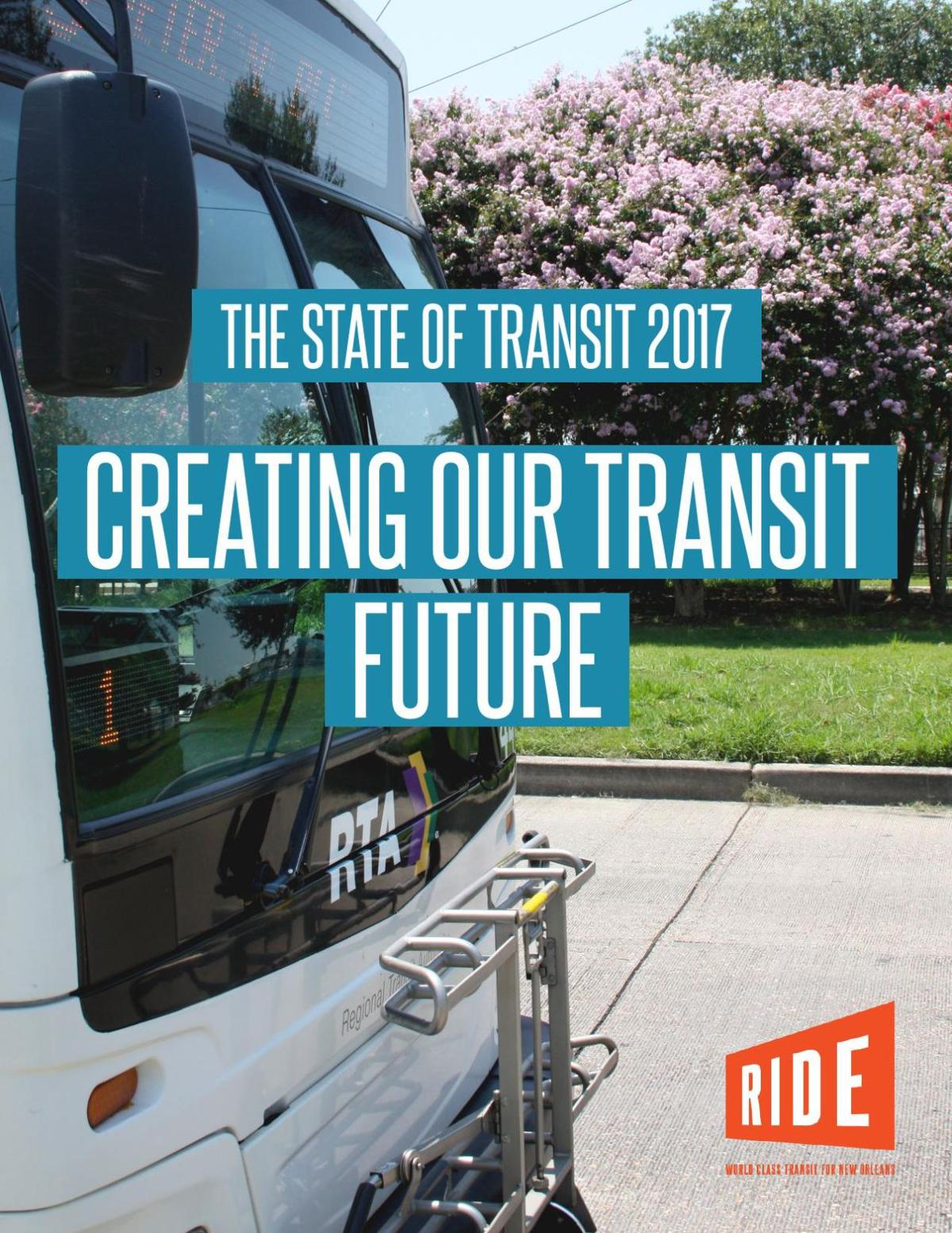 State of Transit report RIDE New Orleans