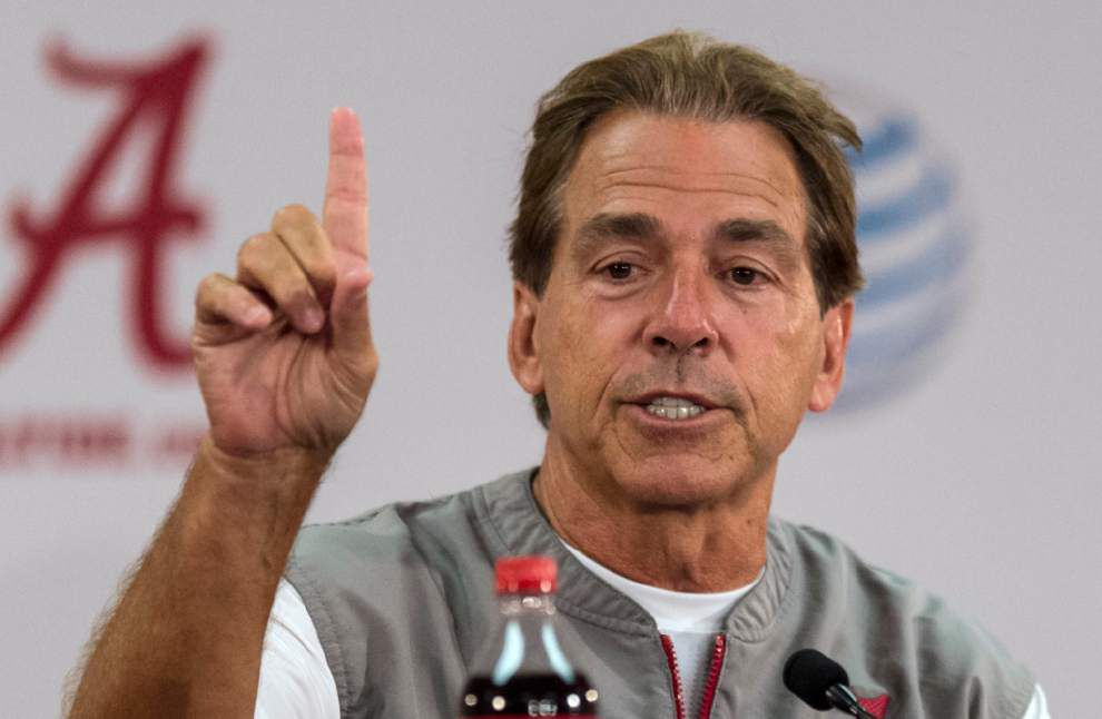 Scott Rabalais' SEC Rating Game: Nick Saban can throw a fit — but for now, he's still not No. 1 _lowres