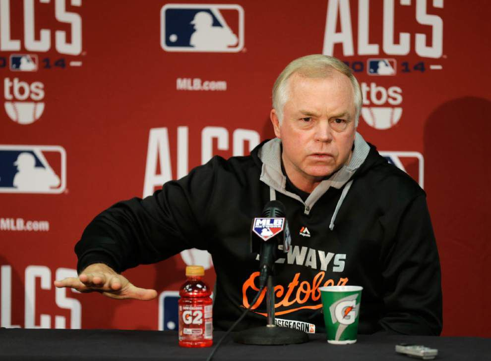 Orioles-Royals Game 3 postponed because of rain, reset for Tuesday _lowres