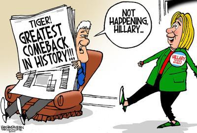 Walt Handelsman: Historic Comeback