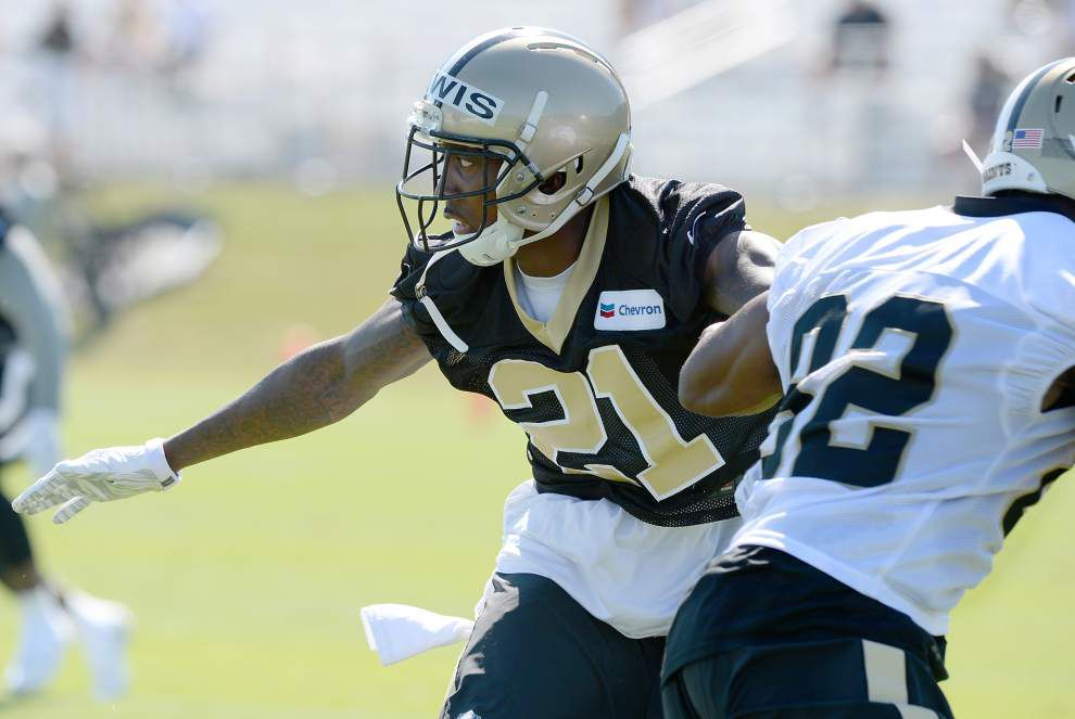 Lewis: The West Bank's own, Keenan Lewis, embraces leadership role heading into third season with the Saints _lowres