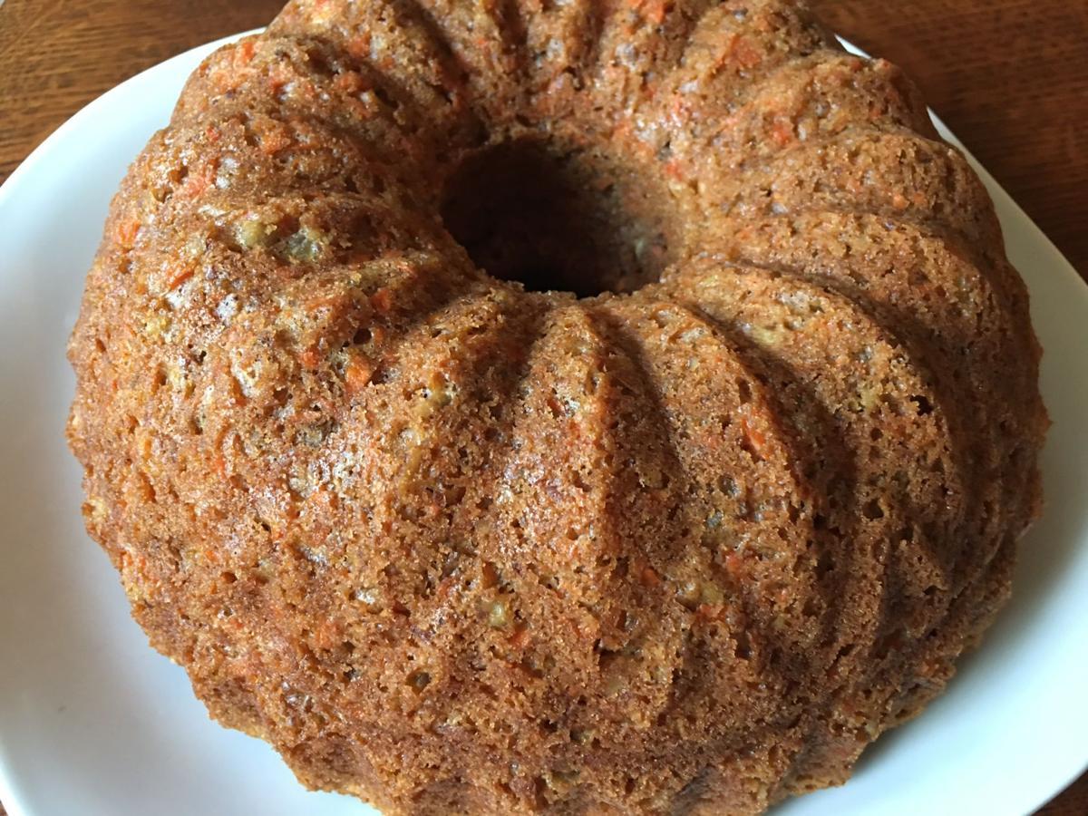 Food processor carrot cake by Judy Walker