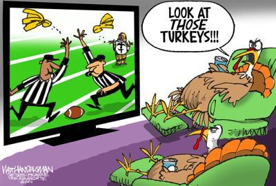 Walt Handelsman: Talking Turkey