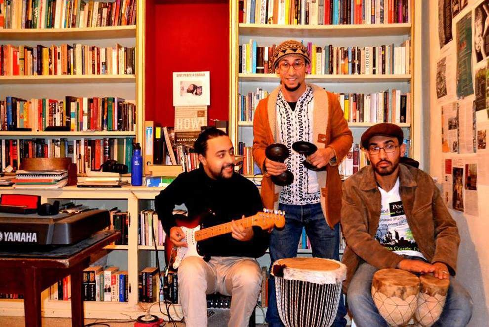 El Habib Louai and the Amazigh Neo-Beat Band at Zeitgeist Theater _lowres