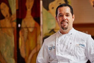 Chef Michael Nelson uses the whole fish at GW Fins dinner Sept. 24