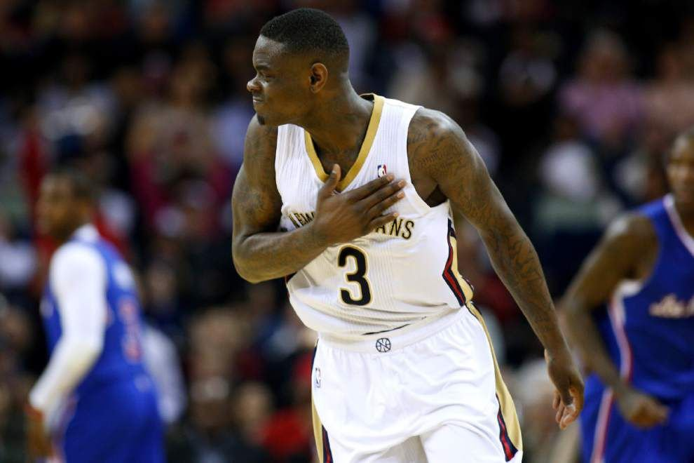 Video: Morrow jump starts Pelicans' upset of the Clippers _lowres