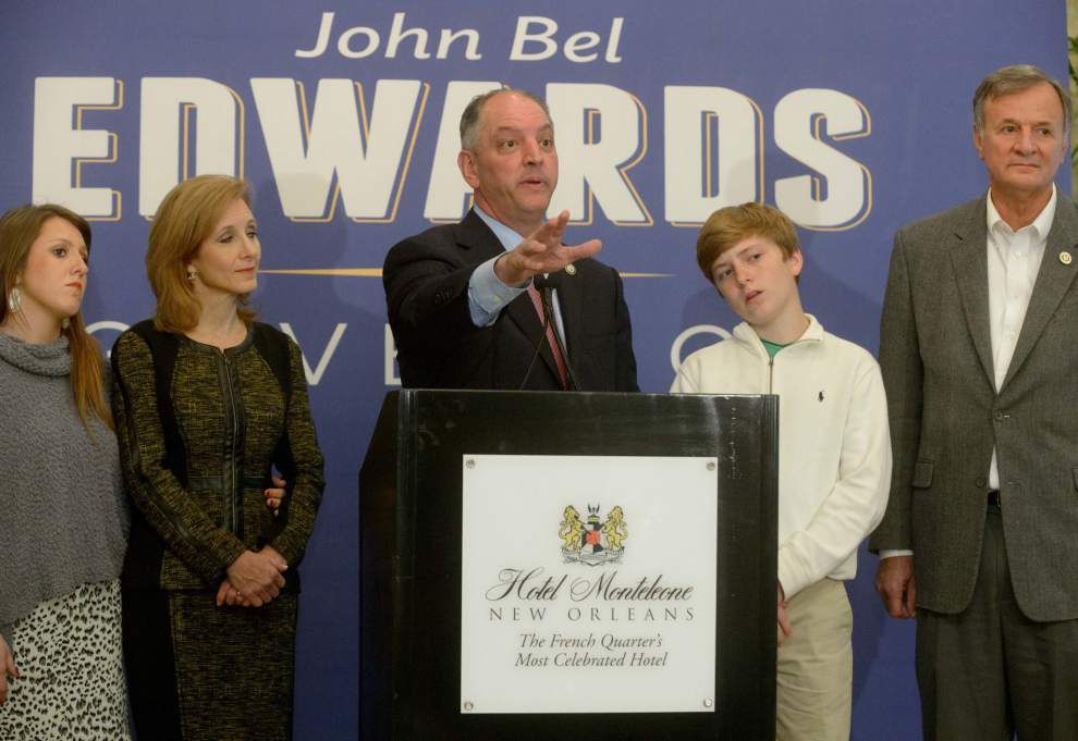 Gov.-elect John Bel Edwards names chief of staff and transition team, faces questions about Medicaid expansion _lowres